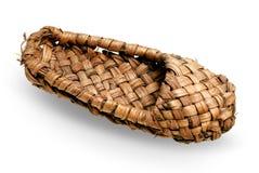παπούτσι ίνας ραφίας διανυσματική απεικόνιση