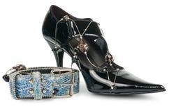 παπούτσι ζωνών Στοκ Εικόνα