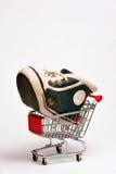 παπούτσι καλαθοσφαίρισ&et στοκ εικόνα