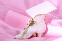 παπούτσι καρτών Στοκ Φωτογραφίες