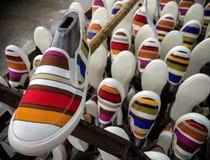 παπούτσι πάνινων παπουτσιών στοκ φωτογραφία