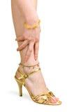 παπούτσι ποδιών Στοκ Φωτογραφία