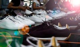 Παπούτσι που κάνει το εργοστάσιο Στοκ φωτογραφία με δικαίωμα ελεύθερης χρήσης