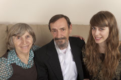παππούδες και γιαγιάδες ευτυχείς Στοκ εικόνα με δικαίωμα ελεύθερης χρήσης