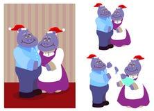 παππούς και γιαγιά Στοκ Εικόνες