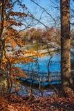 Παράβλεψη της λίμνης Smithville στοκ φωτογραφίες με δικαίωμα ελεύθερης χρήσης
