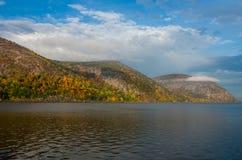 Παράβλεψη του ποταμού του Hudson στοκ φωτογραφίες με δικαίωμα ελεύθερης χρήσης
