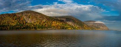Παράβλεψη του ποταμού του Hudson Στοκ εικόνες με δικαίωμα ελεύθερης χρήσης