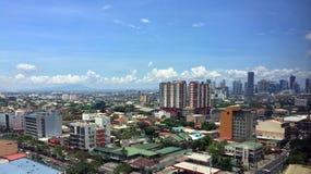 Παράβλεψη της επαρχίας Rizal και BGC στοκ εικόνα με δικαίωμα ελεύθερης χρήσης