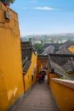 Παράβλεψη του ναού Jinshan σε Zhenjiang, Jiangsu Στοκ φωτογραφία με δικαίωμα ελεύθερης χρήσης