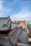 Παράβλεψη του ναού Jinshan σε Zhenjiang, Jiangsu Στοκ εικόνα με δικαίωμα ελεύθερης χρήσης