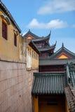 Παράβλεψη του ναού Jinshan σε Zhenjiang, Jiangsu Στοκ Φωτογραφίες