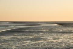 Tideland στη Βόρεια Θάλασσα Στοκ εικόνες με δικαίωμα ελεύθερης χρήσης
