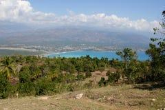 Παράβλεψη Jacmel, Αϊτή Στοκ Φωτογραφίες