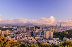 Παράβλεψη Shenzhen στοκ εικόνες με δικαίωμα ελεύθερης χρήσης