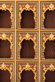Παράδειγμα των οθωμανικών σχεδίων τέχνης κατά την άποψη Στοκ φωτογραφία με δικαίωμα ελεύθερης χρήσης