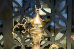 Παράδειγμα των οθωμανικών σχεδίων τέχνης κατά την άποψη Στοκ Φωτογραφία