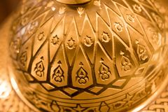 Παράδειγμα των οθωμανικών σχεδίων τέχνης κατά την άποψη Στοκ Εικόνες