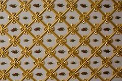 Παράδειγμα των οθωμανικών σχεδίων τέχνης κατά την άποψη Στοκ εικόνες με δικαίωμα ελεύθερης χρήσης