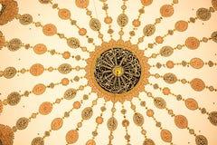 Παράδειγμα των οθωμανικών σχεδίων τέχνης κατά την άποψη Στοκ φωτογραφίες με δικαίωμα ελεύθερης χρήσης