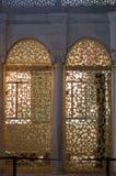 Παράδειγμα των οθωμανικών σχεδίων τέχνης κατά την άποψη Στοκ Εικόνα