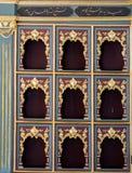 Παράδειγμα των οθωμανικών σχεδίων τέχνης κατά την άποψη Στοκ Φωτογραφίες