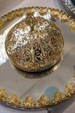Παράδειγμα των οθωμανικών σχεδίων τέχνης στα μέταλλα Στοκ φωτογραφία με δικαίωμα ελεύθερης χρήσης