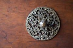 Παράδειγμα των οθωμανικών σχεδίων τέχνης στα μέταλλα Στοκ φωτογραφίες με δικαίωμα ελεύθερης χρήσης