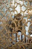 Παράδειγμα των οθωμανικών σχεδίων τέχνης στα μέταλλα Στοκ εικόνες με δικαίωμα ελεύθερης χρήσης