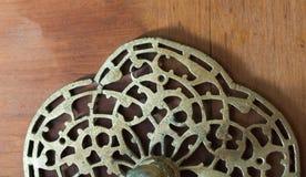 Παράδειγμα των οθωμανικών σχεδίων τέχνης στα μέταλλα Στοκ Φωτογραφία