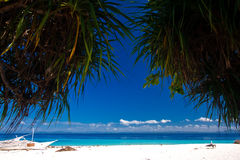 παράδεισος νησιών τροπικό& Στοκ Εικόνα