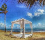 Παράδεισος στην παραλία στη Δομινικανή Δημοκρατία στοκ εικόνες με δικαίωμα ελεύθερης χρήσης
