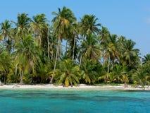 παράδεισος του Παναμά νησιών Στοκ Εικόνες