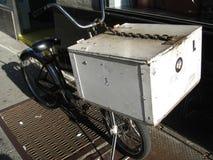 παράδοση ποδηλάτων nyc στοκ φωτογραφία