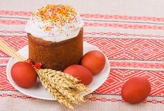 παράδοση τροφίμων Πάσχας Στοκ Εικόνες