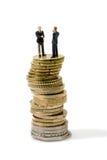 παράδοση χρημάτων επιχειρ&et Στοκ φωτογραφία με δικαίωμα ελεύθερης χρήσης