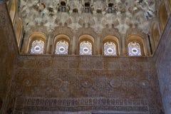 Παράθυρα από celling Alhambra Στοκ Εικόνες