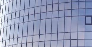 Παράθυρα γυαλιού του κτηρίου ως σκηνικό Στοκ Εικόνα