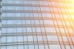 Παράθυρα γυαλιού ουρανοξυστών Στοκ φωτογραφία με δικαίωμα ελεύθερης χρήσης