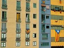 Παράθυρα ενός σπιτιού Στοκ Φωτογραφία
