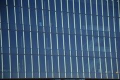 Παράθυρα κανονικό ορθογώνιο γυαλί του Ρέικιαβικ, Ισλανδία Στοκ Φωτογραφία