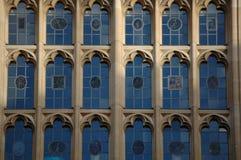 Παράθυρα Πανεπιστημίου της Οξφόρδης Στοκ φωτογραφία με δικαίωμα ελεύθερης χρήσης