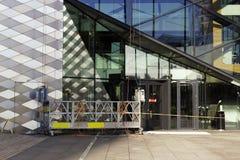 Παράθυρα που πλένουν την πλατφόρμα Στοκ Φωτογραφίες