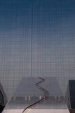 Παράθυρα του επιχειρησιακού γραφείου ουρανοξυστών, εταιρικό κτήριο στο Λονδίνο Στοκ Φωτογραφίες