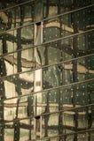 Παράθυρα του κτιρίου γραφείων στο σύγχρονο εμπορικό κέντρο στο Αμβούργο, Γερμανία Στοκ φωτογραφίες με δικαίωμα ελεύθερης χρήσης