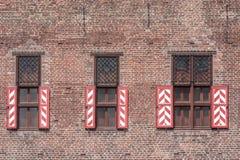 Παράθυρα Στοκ Φωτογραφία