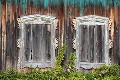 Παράθυρα Στοκ Φωτογραφίες