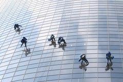παράθυρο έξι πλυντηρίων Στοκ Φωτογραφίες