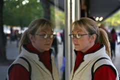 παράθυρο αγορών Στοκ εικόνες με δικαίωμα ελεύθερης χρήσης