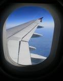 παράθυρο αεροπλάνων Στοκ Φωτογραφία